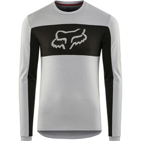 Fox Ranger Dr Foxhead LS Jersey Men steel gray